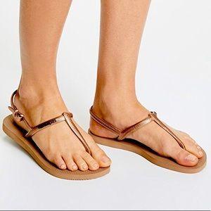 Havaianas Copper Freedom Sandals